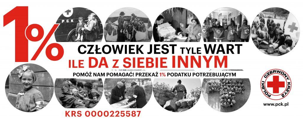 1% na PCK, Jeden procent na Polski Czerwony Krzyż, PCK na Pomorzu, Gdańsk, pck.pomorze.pl